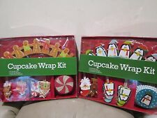 New 2 x Box for Sale - Cupcake Decorating Wrap  ( Christmas Holiday style )
