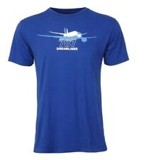 Boeing Shadow Graphic 787 Dreamliner T-Shirt Sz S Authentic; Cotton Discontinued