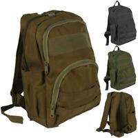 Tactical Military Molle Small Backpack with Bottle Pouches