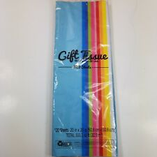"""Gift Tissue Paper 120 Sheets 20""""X20""""9 Solid Colors Plus White Wrapping Crafting"""