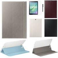 Handle Leather Case For Samsung Galaxy Tab S2 9.7 Inch T810 T815 + Film + Pen