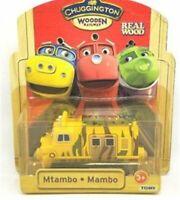 BOX TOMY CHUGGINGTON WOODEN MAGNETIC TRAIN- MTAMBO HEAD