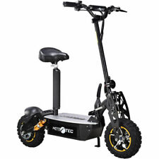 Mototec 2000w 48v Electric Scooter - Folds - Black