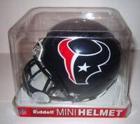 Houston Texans NFL Football Riddell Mini Helmet 2007 Signed Amobi Okoye