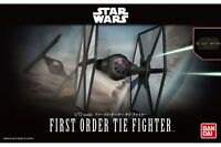 Star Wars Plastic Model Kit 1/72 FIRST ORDER TIE FIGHTER Bandai Japan NEW **