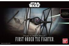 Star Wars Plastic Model Kit 1/72 FIRST ORDER TIE FIGHTER Bandai Japan NEW **