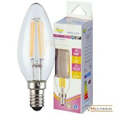 LAMPADINA LED E14 6W LAMPADA FILAMENTO CANDELA OLIVA BULBO DRIWEI 60W
