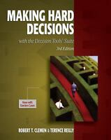 Making Hard Decisions with DecisionTools 3rd Edition by Robert T. Clemen  (Auth)