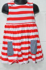 Abbigliamento casual rossi in misto cotone per bimbi