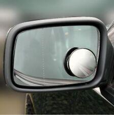 2 X (5 cm Angolo Cieco Specchio CERCHIO facile da montare Autoadesivo)