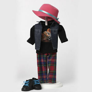 """Madame Alexander Plaid Pants Outfit #68900 fits 18"""" American Girl Dolls"""