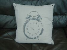 NEXT Cushion, 100% Cotton Cover and Cushion 17'' x 17'' nice rustic design