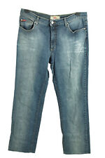 Vintage Lee Cooper LC31ZP High Waist Unisex Denim Jeans  W34 L31 Blue - J4481