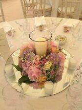 10X Round Mirror Base Wedding Table Centrepiece 30cm