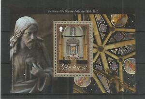 GIBRALTAR 2010 DIOCESE OF GIBRALTAR M-SHEET SG,MS1375 U/MM N/H LOT 3840A