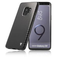 PULSARplus® Samsung Galaxy S9 Hülle Handy Silikon Schutzhülle Case Cover Schwarz