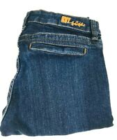 Kut From The Kloth Women's Bermuda Blue Denim Jean Shorts, Sz 6