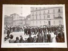 La rivolta del vino a Narbona nel 1907 Deputato socialista Aldy funerali vittime