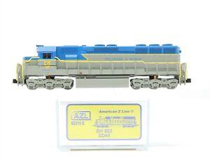 Z Scale AZL American Z Line 63211-3 D&H Railway SD45 Diesel Locomotive #803