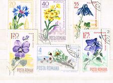 Romania Flora Flowers Plants set 1967