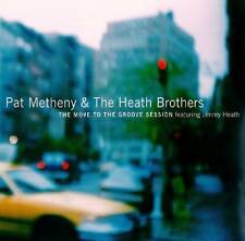 PAT METHENY - THE MOVE TO THE GROOVE SESSION  CD