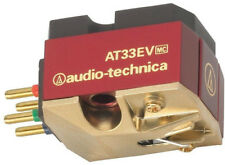 Audio Technica AT33EV Phonograph Cartridge 1/2 Mount