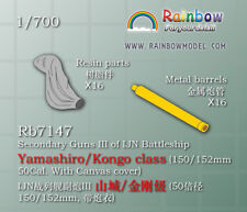 RB3564 Rainbow 1//350 IJN Steam Pipes /& Smoke Pipes II Small size|5types, 24PCS