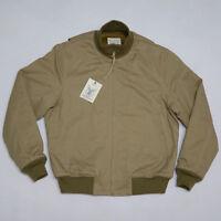 BOB DONG Retro WW2 Tanker Jacket Plain Version Winter Military Combat Uniform