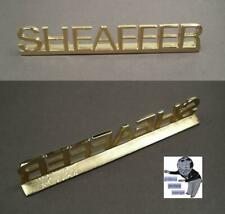 Sheaffer Dekoration factory name in metal 1990ties   #