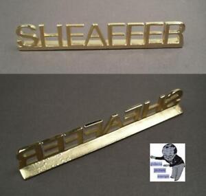 Sheaffer Dekoration factory name in metal 1990ties   #