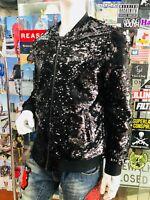 Men's Fashion Black | Black Sequins Jacket
