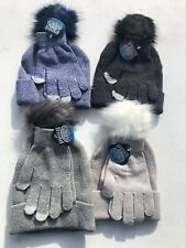 Pugs Knit Hat and Glove Set (042c)