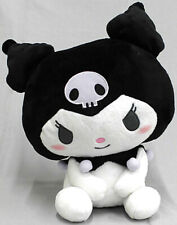 FuRyu Sanrio My Melody Kuromi Petanto Sitting Large Plush Doll 35cm AMU-PRZ10624
