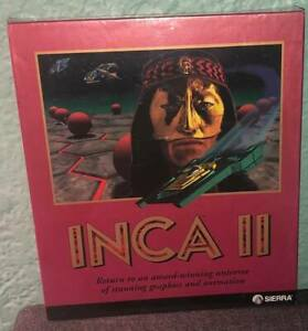 SEALED in Box New INCA II Sierra On-Line Inc PC Computer Adventure Game 1994 NOS