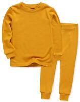"""Vaenait Baby Toddler Kids Clothes Long  Pajama Set """"Modal Mustard"""" 18M-12Y"""