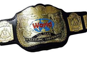 WWF World Tag Team CHAMPIONSHIP Wrestling HeavyWeight Replica Title Belt Adult
