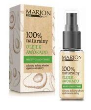 MARION 100% NATURAL AVOCADO OIL FOR HAIR FACE BODY COLOUR PROTECTION & FIRMING