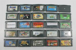 Discounted Lot of 25 Game Boy Advance Games- Mega Man, Harry Potter, Donkey Kong