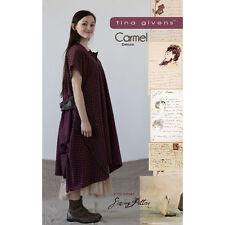 """TINA GIVENS """"CARMEL DRESS"""" Sewing Pattern"""