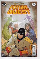 Future Quest #8! Main cover! Dc Comics!