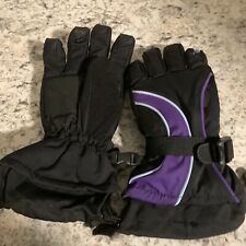 Head kids gloves Purple Black Medium