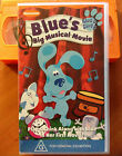 BLUES CLUES - BLUES BIG MUSICAL MOVIE - VHS
