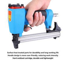 U-shaped Nail Air Brad Gun Stapler Finish Nailer Pneumatic Woodwork Tool