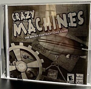 INVENTION GAME (Wacky Contraptions, CRAZY MACHINES, Create)(PC, MAC, CD-ROM)