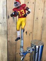 USC TROJANS Tap Handle NCAA Football Beer Keg Marcus Allen Red Jersey