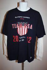 NEW-MENDED 2012 London Olympics Team USA YOUTH 10/12 Medium M Long Sleeve Shirt