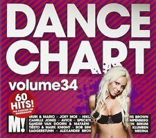 DANCE CHART VOLUME 34 60 HITS - NEW AND SEALED