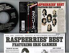 RASPBERRIES Best f/ERIC CARMEN JAPAN CD CP21-6059 w/PASTMASTERS OBI+INSERT FreeS