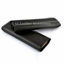 Black Cigar Case Holder For 2 Churchill Cigars (56 ring)