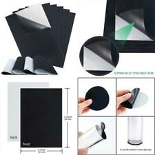 New listing Sntieecr 10 Pieces Black Self Adhesive Back Felt Sheets Fabric Sticky Back Sheet